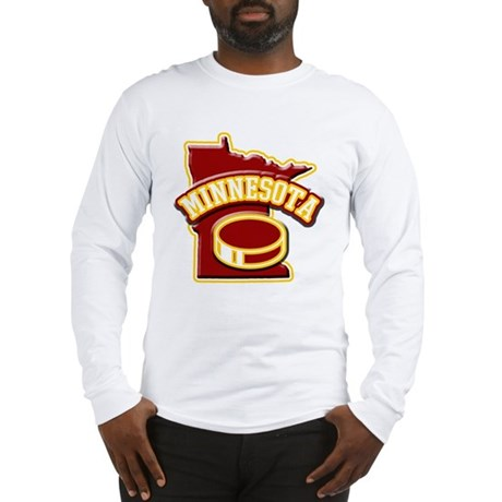 Minnesota Hockey Long Sleeve T-Shirt
