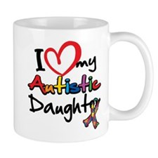 I Love My Autistic Daughter 2 Mug