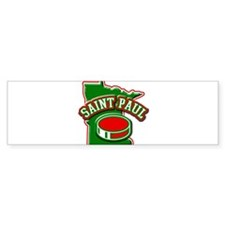 St. Paul Hockey Bumper Bumper Sticker
