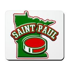 St. Paul Hockey Mousepad