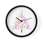 Breast Cancer Awareness Chris Wall Clock