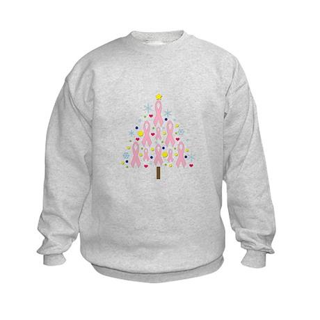 Breast Cancer Awareness Chris Kids Sweatshirt