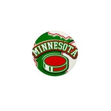 Minnesota Hockey Mini Button