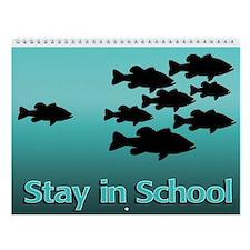 FISHING FANATICS Wall Calendar