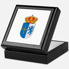 Cool Cross and crown Keepsake Box