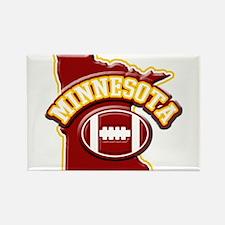 Minnesota Football Rectangle Magnet