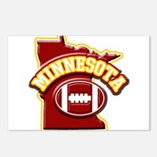 Minnesota Football Postcards (Package of 8)