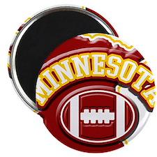 Minnesota Football Magnet