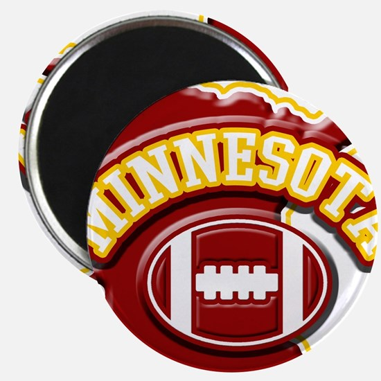Minnesota Football Magnet