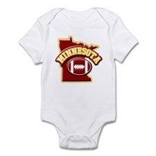Minnesota Football Infant Bodysuit