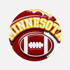 "Minnesota Football 3.5"" Button"