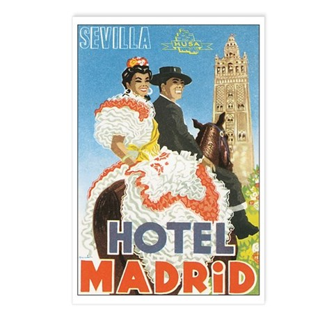 Sevilla Spain Postcards (Package of 8)