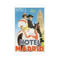 Sevilla Spain Rectangle Decal