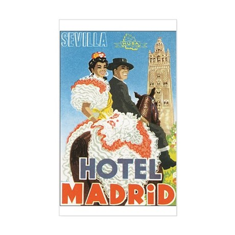 Sevilla Spain Rectangle Sticker