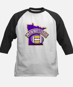 Minnesota Football Kids Baseball Jersey
