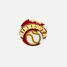 Minnesota Baseball Mini Button (10 pack)
