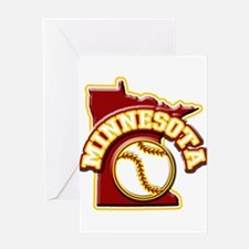 Minnesota Baseball Greeting Card
