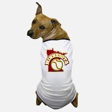 Minnesota Baseball Dog T-Shirt