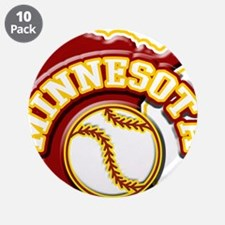 "Minnesota Baseball 3.5"" Button (10 pack)"
