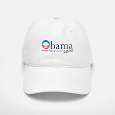 Obama 08 Baseball Baseball Cap