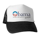 Obama 08 Trucker Hats
