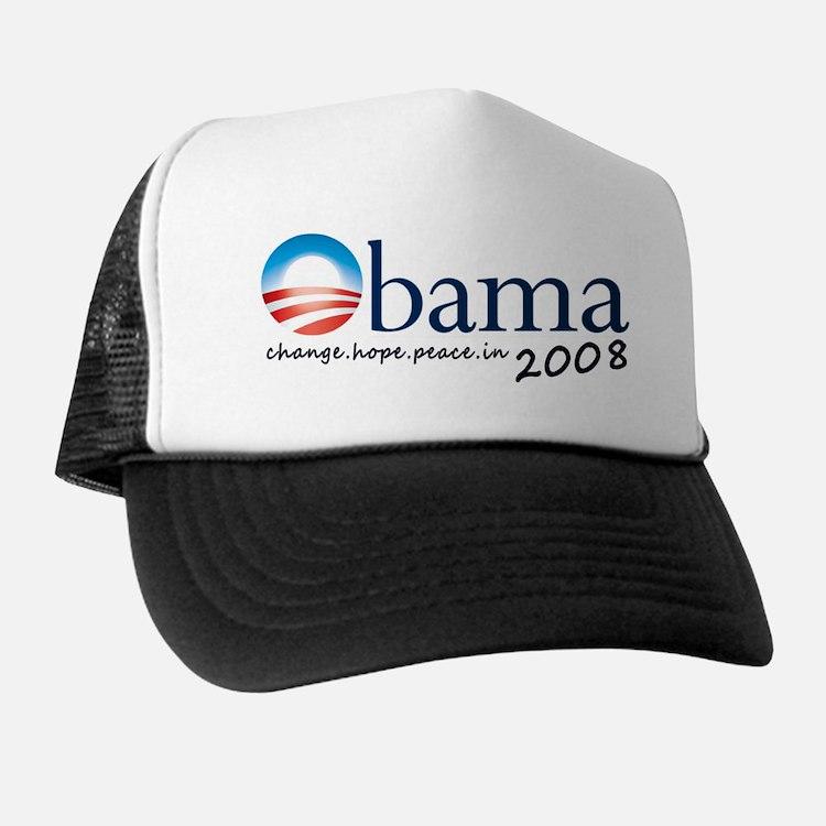 Obama 08 Trucker Hat