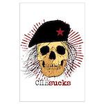 Che Sucks Large Poster