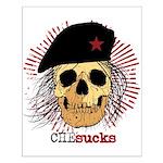 Che Sucks Small Poster