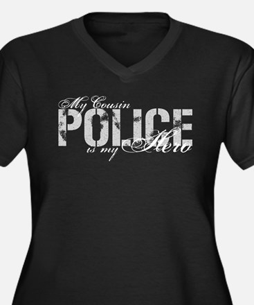 My Cousin is My Hero - POLICE Women's Plus Size V-