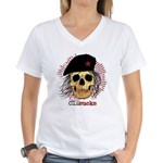 Che Sucks Women's V-Neck T-Shirt