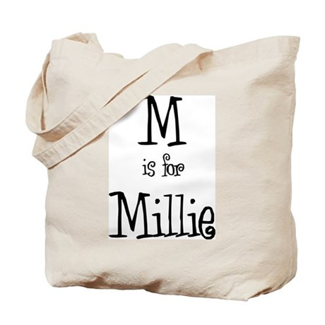 M Is For Millie Tote Bag