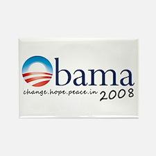 Obama 08 Rectangle Magnet
