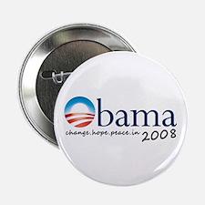 """Obama 08 2.25"""" Button"""