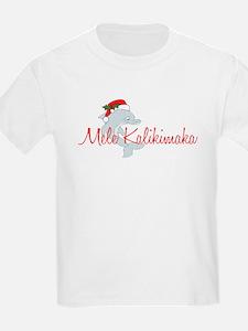Hawaiian Christmas Dolphin T-Shirt