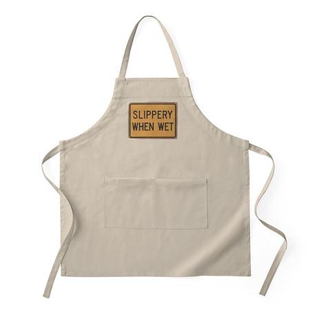 Slippery When Wet BBQ Apron