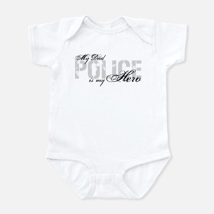 My Dad is My Hero - POLICE Infant Bodysuit