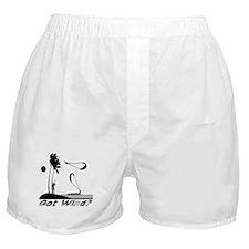 Kiteboarding Kitesurfing Boxer Shorts