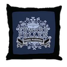 Edward Cullen Twilight Throw Pillow