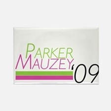 Parker/Mauzey Rectangle Magnet