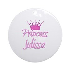 Princess Julissa Ornament (Round)