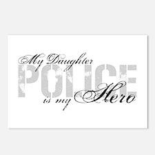 My Daughter is My Hero - POLICE Postcards (Package