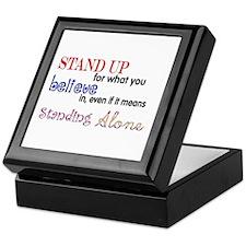 Stand Up Keepsake Box
