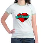 Twilight Heart Tattoo Jr. Ringer T-Shirt