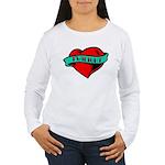 Twilight Heart Tattoo Women's Long Sleeve T-Shirt