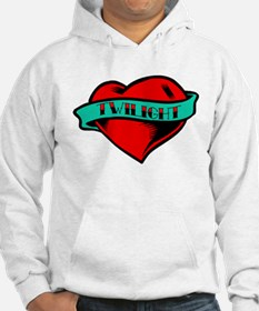 Twilight Heart Tattoo Hoodie