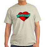 Twilight Heart Tattoo Light T-Shirt