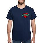 Twilight Heart Tattoo Dark T-Shirt