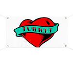 Twilight Heart Tattoo Banner