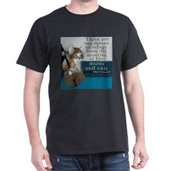 Cats and Music T-Shirt