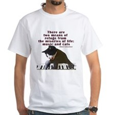 Cats and Music Shirt